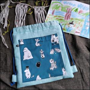 Plecak dziecięcy - Muminki