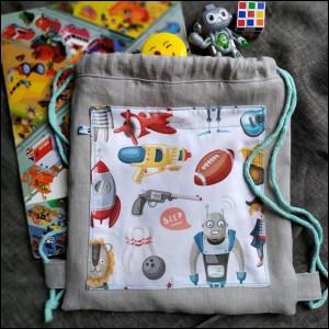 Plecak dziecięcy - zabawki
