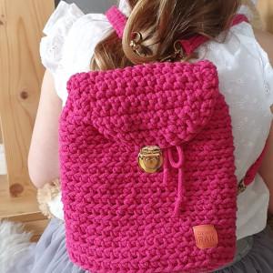 Plecak dziewczęcy Rose Mama i córka wersja córka