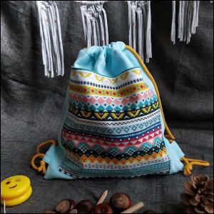 Plecak worek - etno wzory