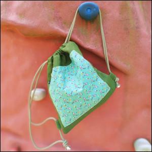 Plecak worek - zielony