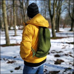 Plecak XL zielony