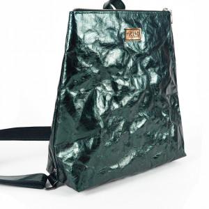 Plecak z papieru -ecofriendly [zielony połysk]