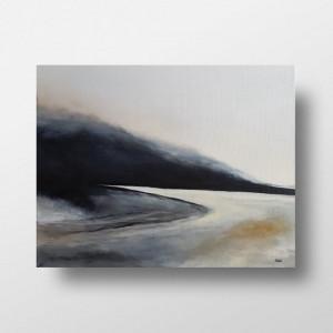 Pod lasem -obraz akrylowy 50/40 cm