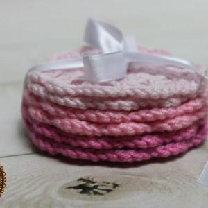 Podkładki - różowe
