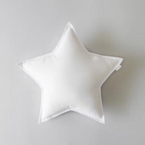 Poduszka dekoracyjna Gwiazda biała