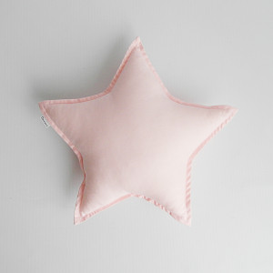 Poduszka dekoracyjna Gwiazda różowa