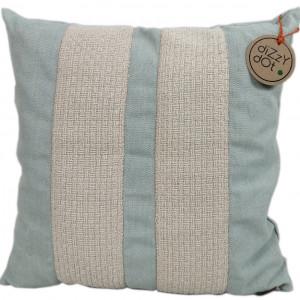 Poduszka dekoracyjna niebieska styl prowansalski