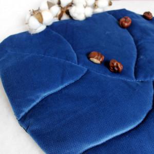 Poduszka dekoracyjna płaska Liść