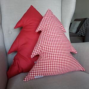 Poduszka duża choinka -super jakość bawełny