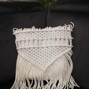 poduszka makrama