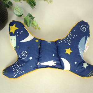Poduszka motylek antywstrząsowa niebo pełne gwiazd