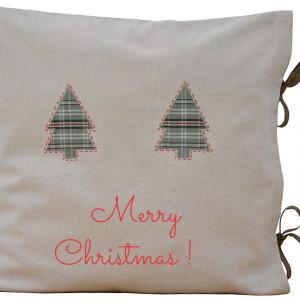 poduszka świąteczna z napisem