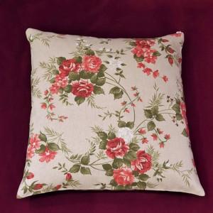 Poduszka z łuską gryki i lawendą - dekoracyjna