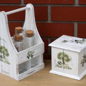 Pojemniki na przyprawy – komplet do kuchni