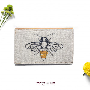 portfel - pszczoła