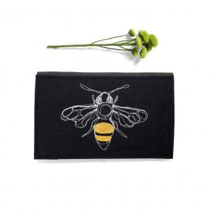 portfel - pszczoła czarna