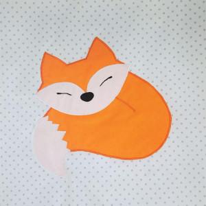 Pościel do łóżeczka z Liskiem :) 90x120