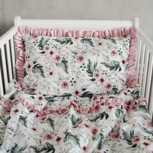 Pościel dziecięca z falbankami -blossom