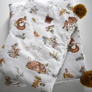 Pościel niemowlęca leśne zwierzęta