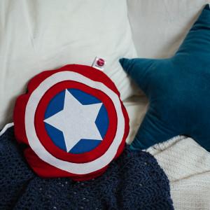 Pożeracz piżamy Tarcza KAPITAN AMERYKA Avengers