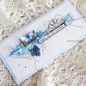 Pozytywna kartka - niebieska, 826