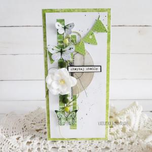 Pozytywna kartka - zielona, 824