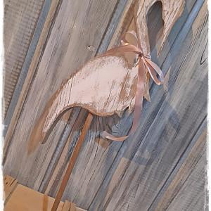 Ptak drewniany