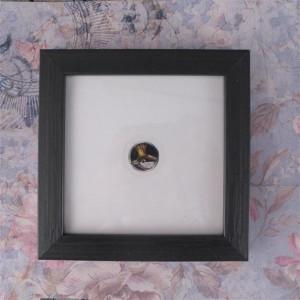 Ptak w koronie, miniatura, akwarela , prezent