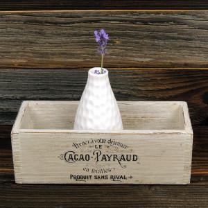 Pudełko drewniane na drobiazgi. Organizer.