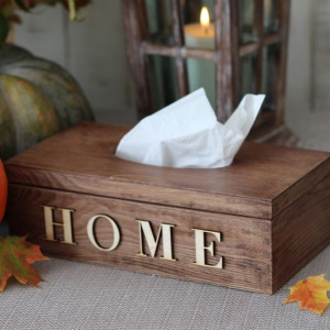 Pudełko na chusteczki Home