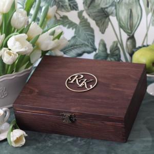 Pudełko na herbatę - 12 komorowe