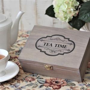 Pudełko na herbatę - 6 komorowe