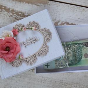 Pudełko na pieniądze na ślub 2