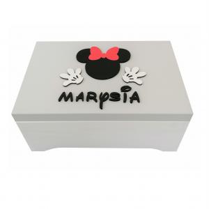 Pudełko na skarby XXL Myszka  Minnie - MmC13