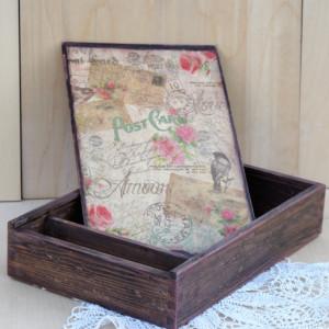 Pudełko na zdjęcia i pen-drive
