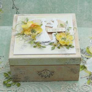 Pudełko ślubne - niezbędnik małżeński NM 4
