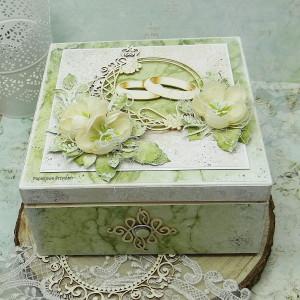 Pudełko ślubne - niezbędnik małżeński NM2