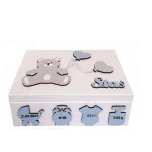 Pudełko wspomnień,  Pamiątka na Chrzest - PW11