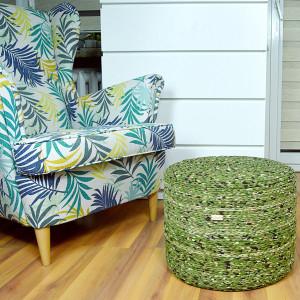 Puf NIEPOWTARZALNY na piance tapicerskiej moro