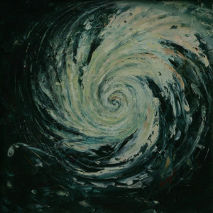 Radość przestrzeni - olej na płótnie