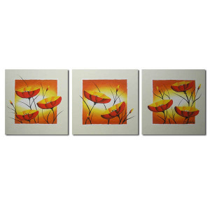 ręcznie malowane MAKI 7 - 90x30cm