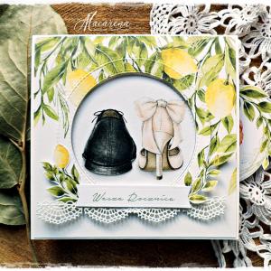 Rocznica - kartka na rocznicę ślubu