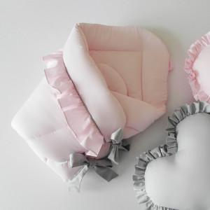 Rożek niemowlęcy z falbanką