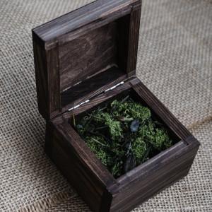 Rustykalne pudełko na obrączki II