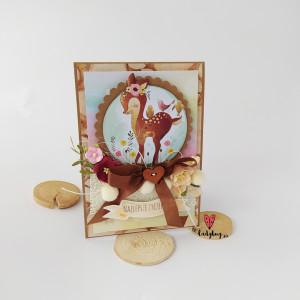 Sarenka - kartka na urodziny
