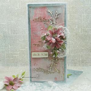 Serdeczne Życzenia vol 3 - kartka w pudełku