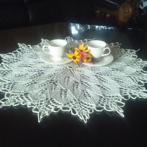 Serwetka na drutach 60 cm