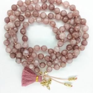 Shark Tooth Yoga Mala Beads