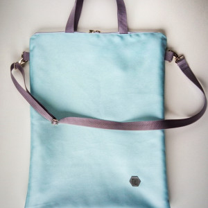 Shopper bag basic blue